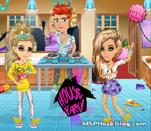 MSP House Party Competition - MovieStarPlanet Hacks and Cheats Blog